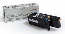 Картридж лазерный Xerox 106R02760 голубой (1000стр.) для Xerox Phaser 6020/6022/6025/6027