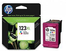 Картридж струйный HP 123XL F6V18AE многоцветный (330стр.) для HP DJ 2130