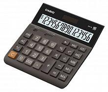 Калькулятор настольный Casio DH-16 коричневый/черный 16-разр.