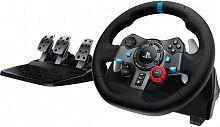 Руль Logitech G29 Driving Force Racing 14кноп. (с педалями) черный