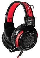 Наушники с микрофоном Oklick HS-G300 ARMAGEDDON черный/красный 2.5м мониторные оголовье (AH-V1)