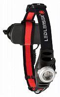 Фонарь налобный Led Lenser H6 черный лам.:светодиод. AAAx3 (7296)