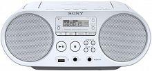 Аудиомагнитола Sony ZS-PS50 белый 4Вт/CD/CDRW/MP3/FM(dig)/USB