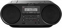 Аудиомагнитола Sony ZS-RS60BT черный 4Вт/CD/CDRW/MP3/FM(dig)/USB/BT
