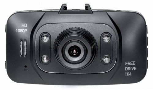 Видеорегистратор Digma FreeDrive 104 черный 1Mpix 1080x1920 1080p 140гр. GP1248