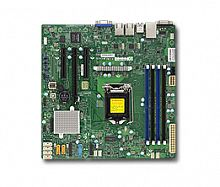 Материнская Плата SuperMicro MBD-X11SSL-F-O Soc-1151 iC232 mATX 4xDDR4 6xSATA3 SATA RAID i210AT 2хGgbEth Ret