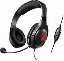 Наушники с микрофоном Creative Sound Blaster Blaze черный/красный 2.5м мониторные оголовье (70GH032000000)