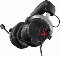 Наушники с микрофоном Creative Sound BlasterX H5 черный/серебристый 1.2м мониторы оголовье (70GH031000003)
