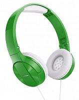 Наушники мониторные Pioneer SE-MJ503-G 1.2м зеленый/белый проводные оголовье