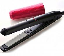 Щипцы Panasonic EH-HV10-K865 50Вт макс.темп.:210С покрытие:фотокерамическое черный/розовый