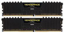 Память DDR4 2x16Gb 2133MHz Corsair CMK32GX4M2A2133C13 Vengeance LPX Black Heat spreader RTL PC4-17000 CL13 DIMM 288-pin 1.2В