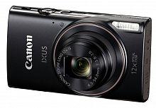 """Фотоаппарат Canon IXUS 285HS черный 20.2Mpix Zoom12x 3"""" 1080 SD CMOS IS opt 1minF 2.5fr/s 30fr/s/WiFi/NB-11LH"""