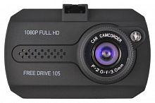 Видеорегистратор Digma FreeDrive 105 черный 1.3Mpix 1080x1920 1080p 140гр. NTK96220