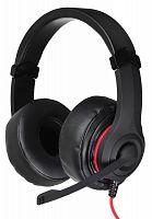 Наушники с микрофоном Oklick HS-L330G NIGHTMARE черный 2.2м мониторные оголовье (N-6)