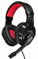 Наушники с микрофоном Оклик HS-L320G Phoenix черный 1.9м мониторные оголовье (NO-3000)