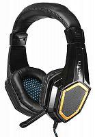 Наушники с микрофоном Оклик HS-L310G Guardian черный 1.5м мониторные оголовье (LPS-1530)