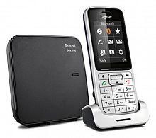 Р/Телефон Dect Gigaset Gigaset SL450 SYS серебристый/черный АОН