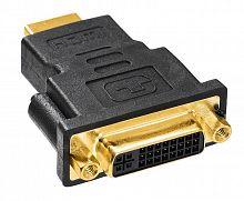 Переходник Buro HDMI-19M-DVI-I(F)-ADPT DVI-I(f) HDMI (m) черный