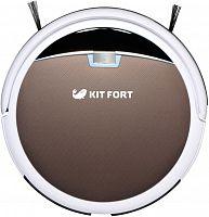 Пылесос-робот Kitfort КТ-519-4 20Вт коричневый/белый