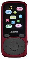 """Плеер Flash Digma B3 8Gb красный/1.8""""/FM/microSD"""