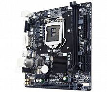 Материнская плата Gigabyte GA-H110M-S2V Soc-1151 Intel H110 2xDDR4 mATX AC`97 8ch(7.1) GbLAN+VGA+DVI