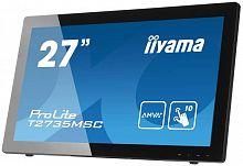 "Монитор Iiyama 27"" ProLite T2735MSC-B2 черный VA LED 5ms 16:9 DVI HDMI M/M матовая 300cd 178гр/178гр 1920x1080 D-Sub FHD USB Touch 8.2кг"