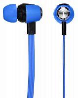 Гарнитура вкладыши Oklick HS-S-240 1.2м синий проводные (в ушной раковине)