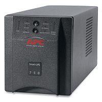 Источник бесперебойного питания APC Smart-UPS SUA750I 500Вт 750ВА черный