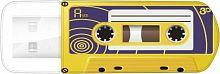 Флеш Диск Verbatim 32Gb Mini Cassette Edition 49393 USB2.0 желтый/рисунок