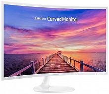 "Монитор Samsung 31.5"" C32F391FWI белый VA LED 4ms 16:9 HDMI глянцевая 250cd 178гр/178гр 1920x1080 DisplayPort FHD 6.2кг"