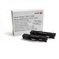 Картридж лазерный Xerox 106R02782 черный x2упак. (6000стр.) для Xerox Phaser 3052/3260 WC 3215/3225