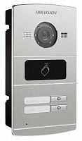 Видеопанель Hikvision DS-KV8202-IM цветной сигнал CMOS цвет панели: серебристый