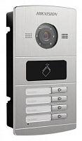 Видеопанель Hikvision DS-KV8402-IM цветной сигнал CMOS цвет панели: серебристый
