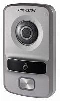 Видеопанель Hikvision DS-KV8102-IP цветной сигнал CMOS цвет панели: серебристый