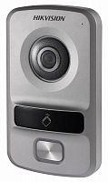 Видеопанель Hikvision DS-KV8102-VP цветной сигнал CMOS цвет панели: серебристый