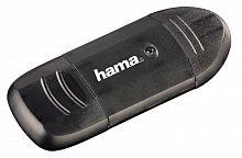 Устройство чтения карт памяти USB2.0 Hama H-114731 черный