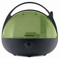 Увлажнитель воздуха Starwind SHC3415 25Вт (ультразвуковой) черный/зеленый