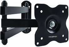 "Кронштейн для телевизора Kromax DIX-15 черный 15""-28"" макс.30кг настенный поворот и наклон"