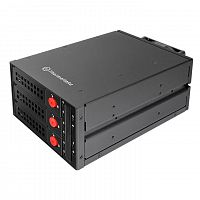 Сменный бокс для HDD/SSD Thermaltake Max 3503 SATA I/II/III/SAS металл черный hotswap 3