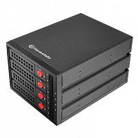 Сменный бокс для HDD/SSD Thermaltake Max 3504 SATA I/II/III/SAS металл черный hotswap 4