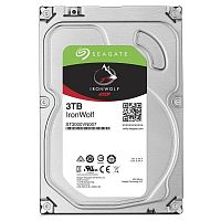 """Жесткий диск Seagate Original SATA-III 3Tb ST3000VN007 NAS Ironwolf (5900rpm) 64Mb 3.5"""""""