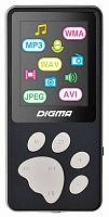 "Плеер Flash Digma S3 4Gb черный/серый/1.8""/FM/microSD"