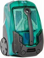 Пылесос моющий Thomas Multi Clean X10 Parquet 1700Вт аквамарин/серебристый
