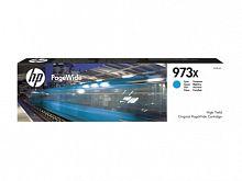 Картридж струйный HP 973XL F6T81AE голубой (7000стр.) для HP PW Pro 477dw/452dw