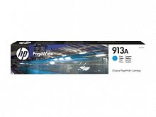 Картридж струйный HP 913A F6T77AE голубой (3000стр.) для HP PW 352dw/377dw/Pro 477dw/452dw