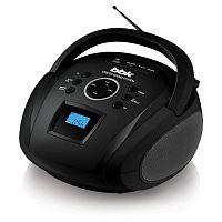 Аудиомагнитола BBK BS08BT черный 4Вт/MP3/FM(dig)/USB/BT/microSD