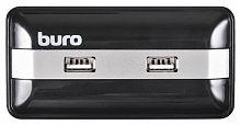 Разветвитель USB 2.0 Buro BU-HUB7-U2.0 7порт. черный