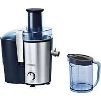 Соковыжималка центробежная Bosch MES3500 700Вт рез.сок.:1250мл. серебристый/синий