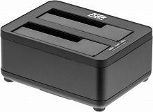 Док-станция для HDD AgeStar 3UBT8 SATA III пластик/алюминий черный 2