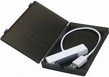 "Внешний корпус для HDD/SSD AgeStar SUBCP1 SATA пластик черный 2.5"""